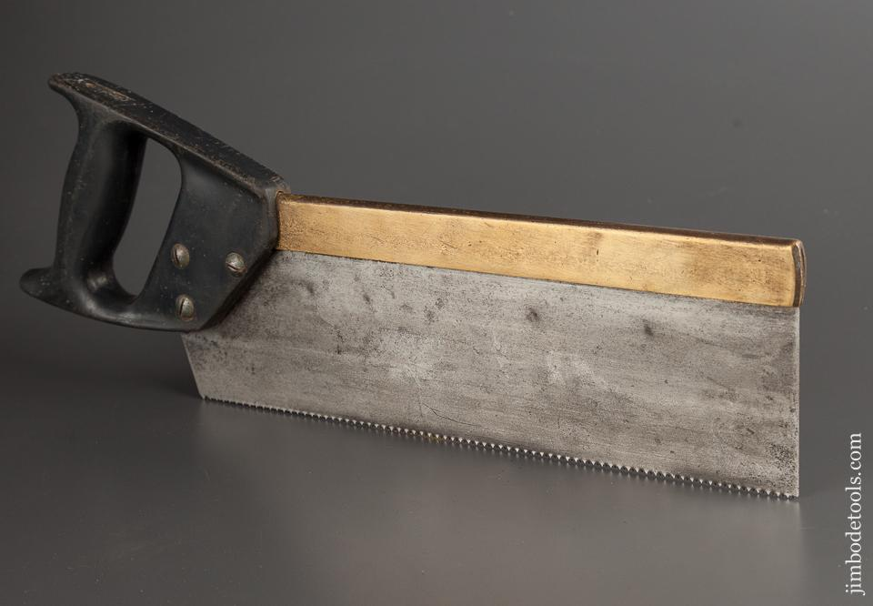 Freshly Sharpened! STANLEY 13 point 12 inch Rip Brass Back Dovetail Saw - 78888R