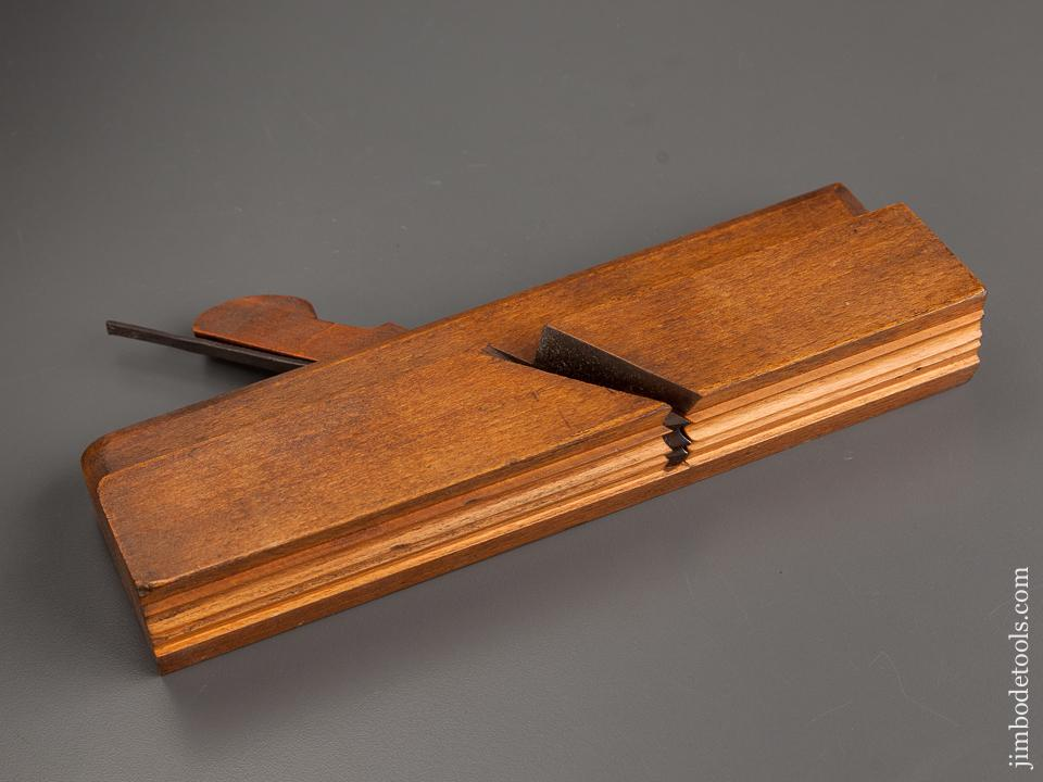 Extra Fine! Crisp Cluster Bead Moulding Plane by ARISTINE TOOL CO. GLASGOW circa 1903-05 - 78951R