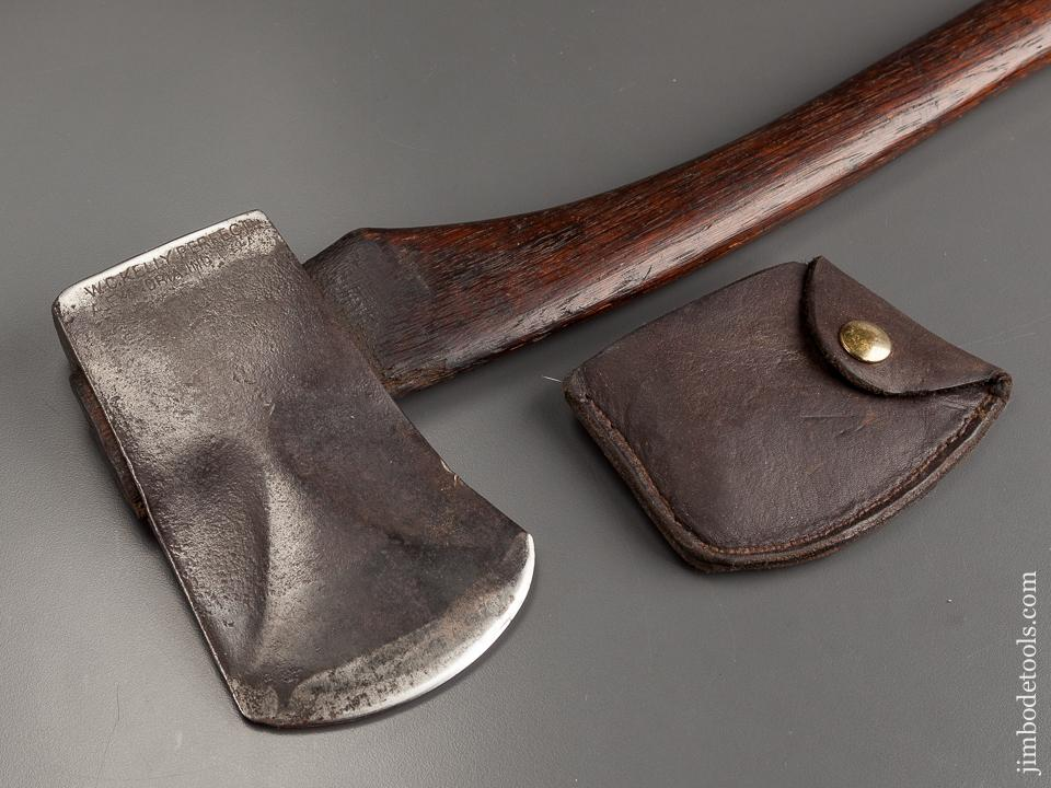 Early Two pound KELLY PERFECT Axe with Phantom Bevels and Leather Sheath - 79020