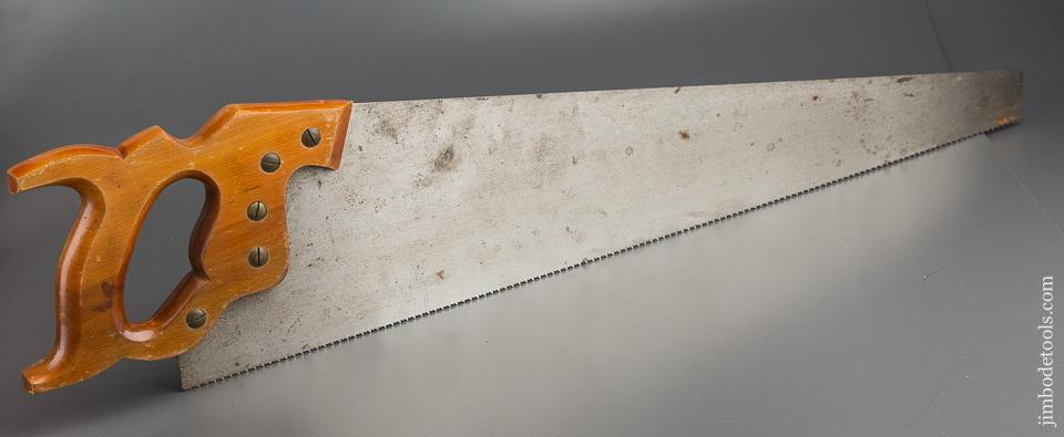 UNUSED 11 point 26 inch Crosscut DISSTON D-23 Hand Saw - 79074