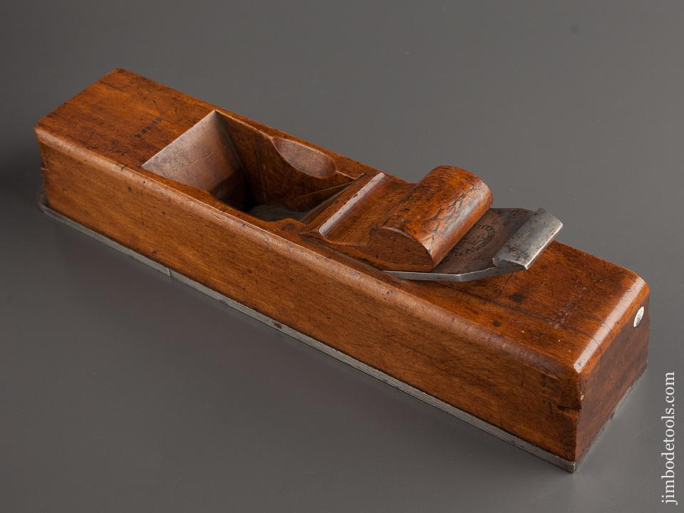 Remarkable! Beech & Steel Miter Plane 13 3/4 inches! By J.J. JACKSON & CO - 79120U