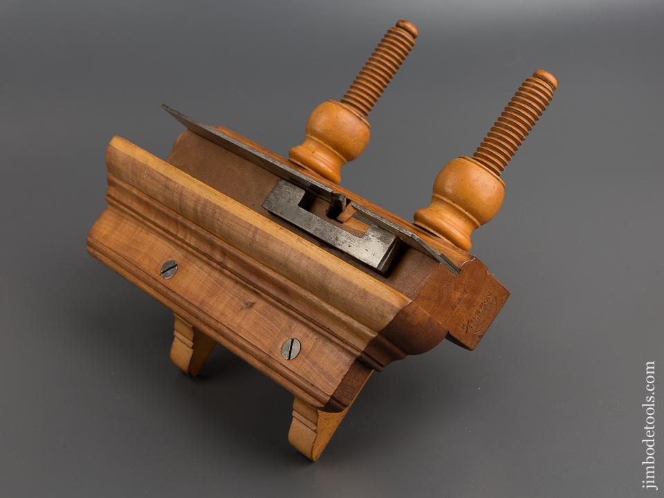 Crisp and Fine! UNION FACTORY H. CHAPIN No. 239 1/2 Applewood Plow Plane - 79160U