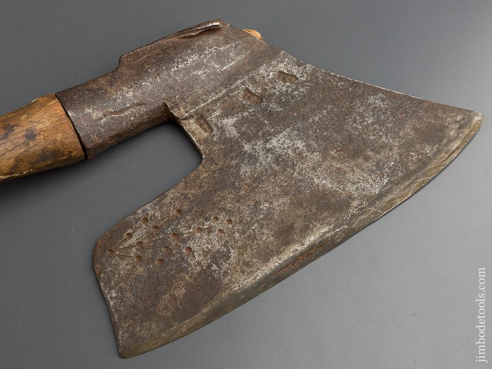 Stunning Decorated Offset Goosewing Axe - 79191R