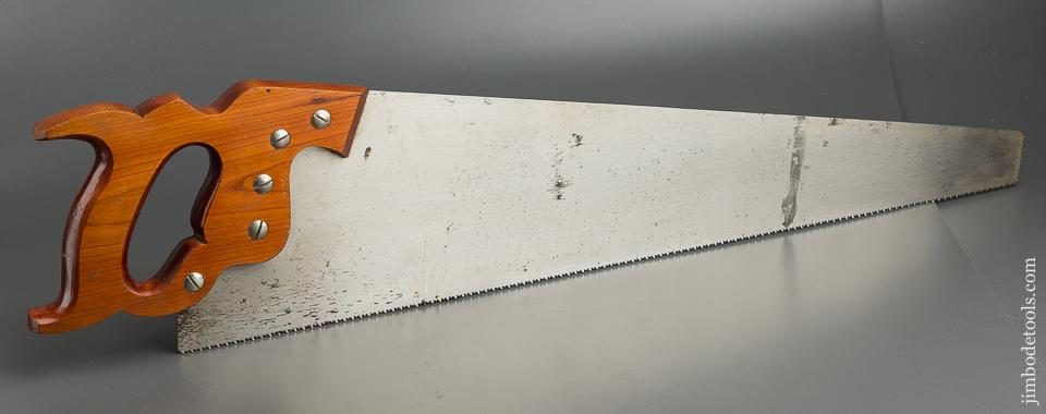 10 point 26 inch Crosscut DISSTON D23 Hand Saw UNUSED - 79408