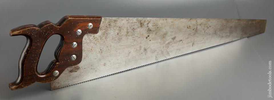 11 point 26 inch Crosscut DISSTON D15 Hand Saw with Rosewood Handle - 79409