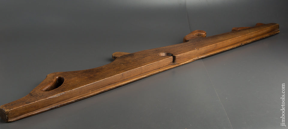 Stunning! 18th Century 45 inch Dated 1752 Carved Plane - 79434U