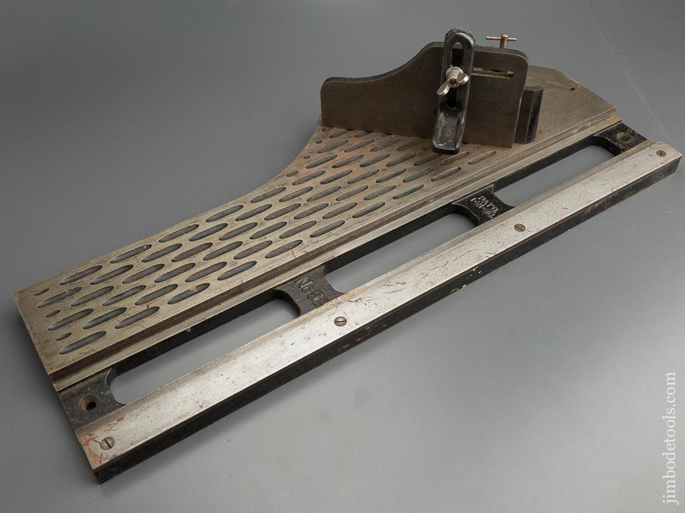 Extra Fine! STANLEY No. 51 & 52 Chute Shoot Board and Plane COMPLETE! - 79467