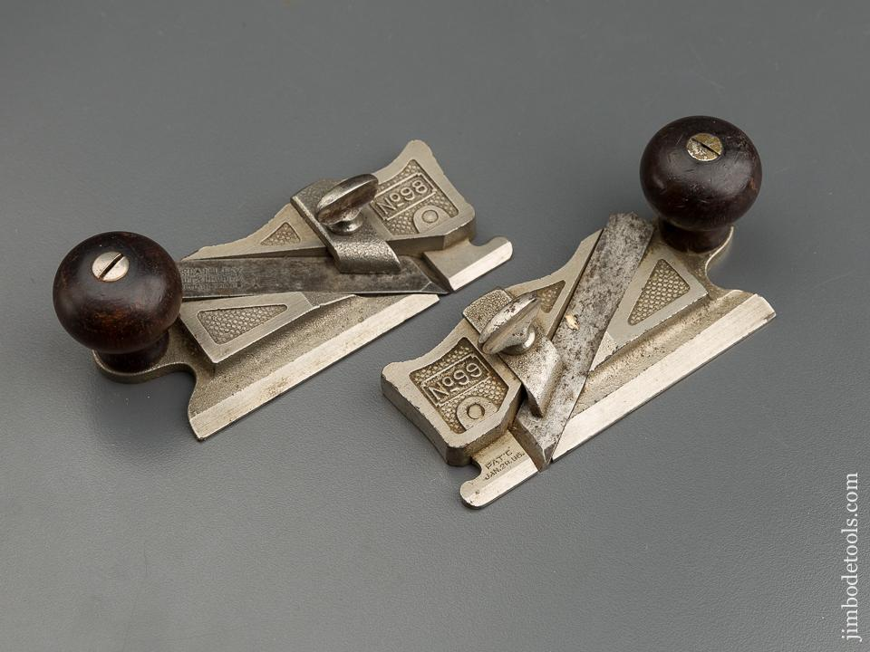 Matched Pair of STANLEY No. 98 & 99 Side Rabbet Planes - 79494