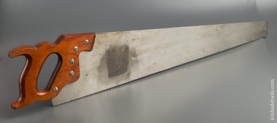 BARELY USED 8 point 26 inch Crosscut DISSTON NINETY FORTY SPECIAL Hand Saw - 79623