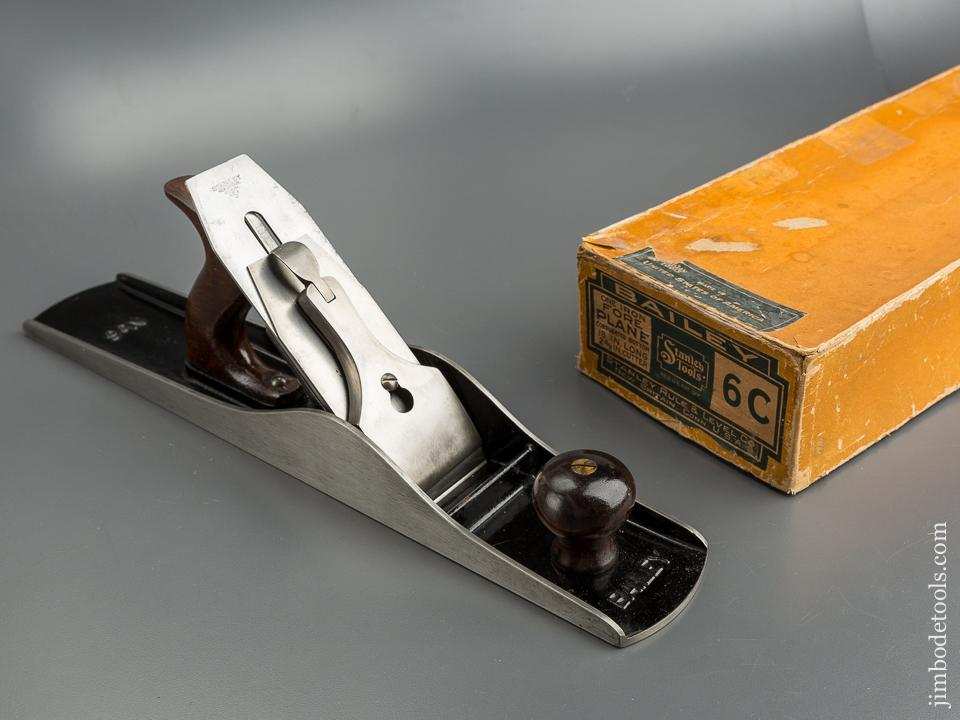 RARE Type 11 STANLEY No. 6C Fore Plane circa 1910-18 MINT in Original Box - 79628