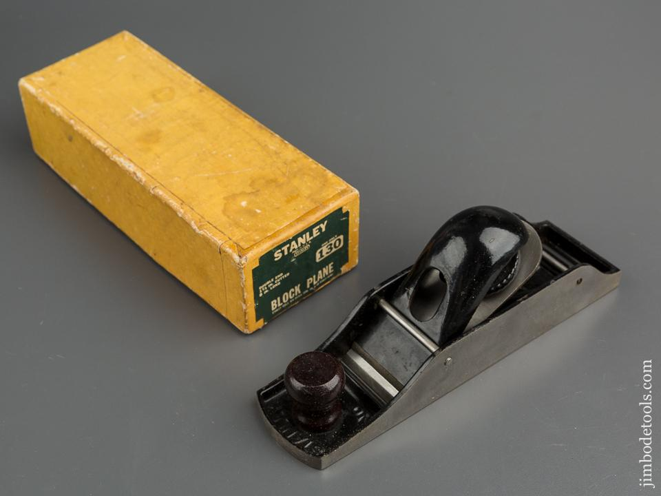 STANLEY No. 130 Block Plane MINT in Original Box - 79630