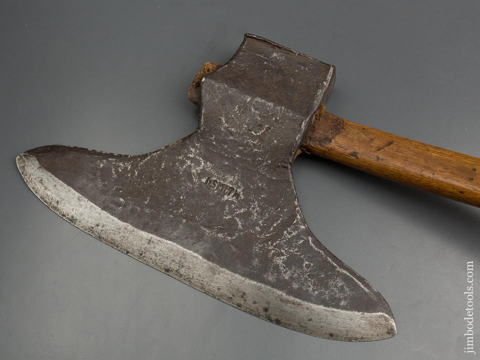 Gorgeous Offset Broad Axe by I. SMITH - 79688