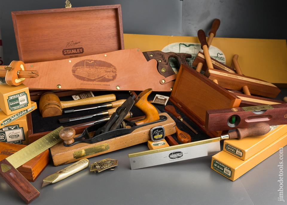 RARE Complete Set of STANLEY 150th Anniversary Commemorative Tools ALL TWELVE! - 79756
