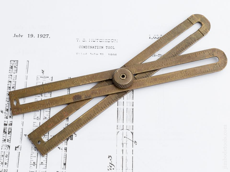 12 in 1 HUTCHISON Patent July 19, 1927 Multi Tool - 80005