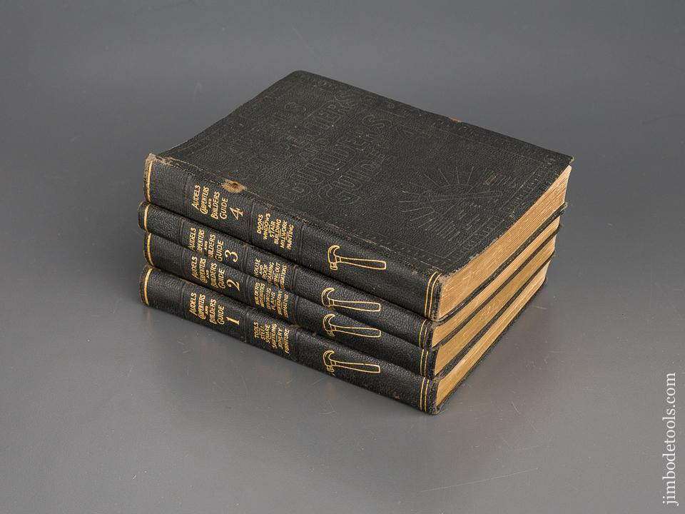 books audels carpenters and builders guide volumes 1 4 80483 rh jimbodetools com audels carpenters and builders guide 1-4 Audels Millwrights and Mechanics Guide
