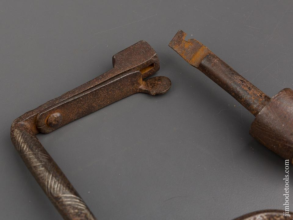 Awesome 17th/18th Century Brace with Bit Cage Head - 80659