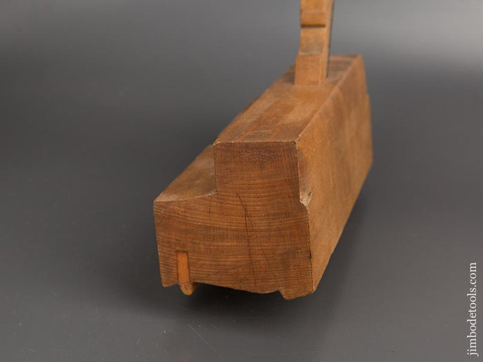 3 3/8 inch Wide Molding Plane by CASEY & CO. AUBURN, NY circa 1830-50s EXTRA FINE - 81906R