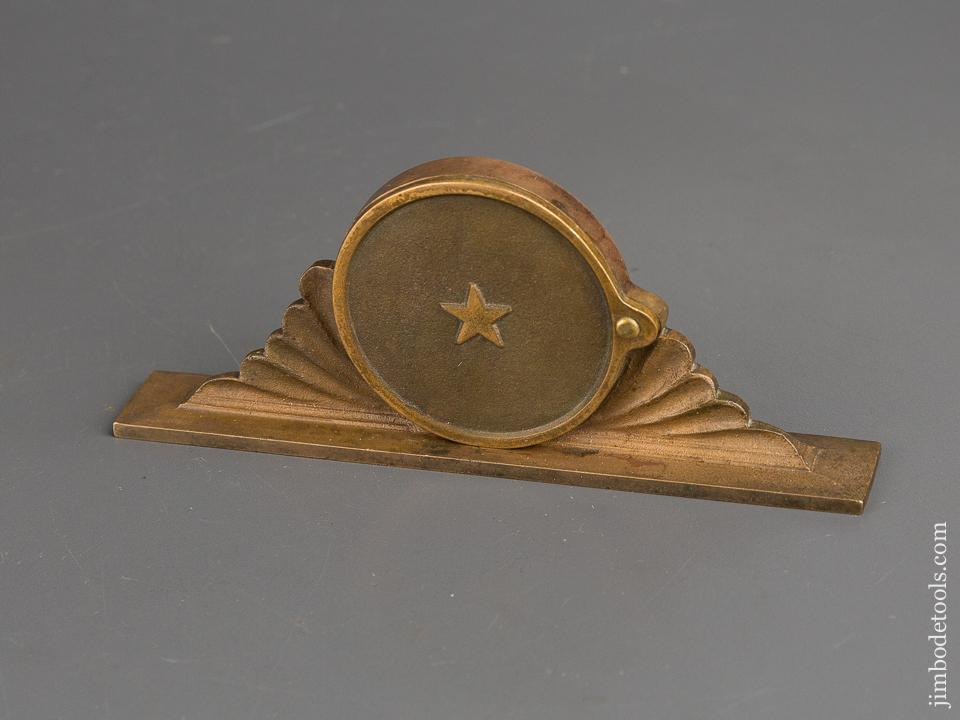 Rare! VANDEGRIFT Patent May 8, 1866 Inclinometer Level by PATENT LEVEL CO OF BRIDGEPORT CT - 82387U