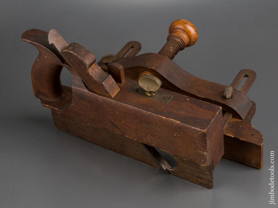 Crisp! SOLON RUST Patent March 31, 1868 Plow Plane LIKE NEW! - 82739U