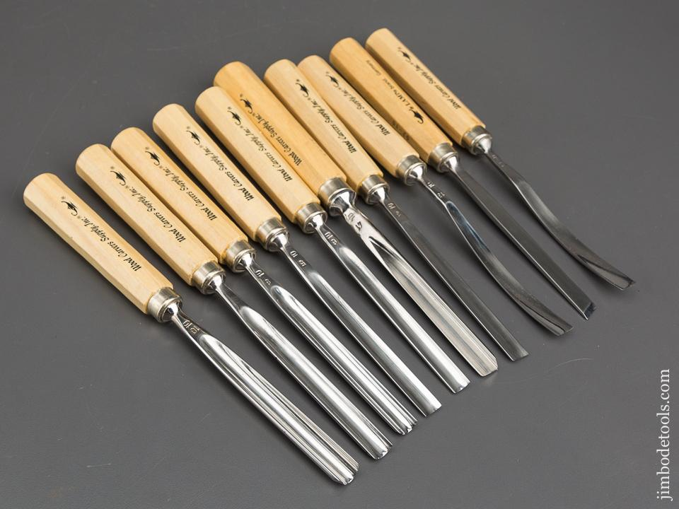 MINT Set of Ten German Carving Tools by LAMP - 82889