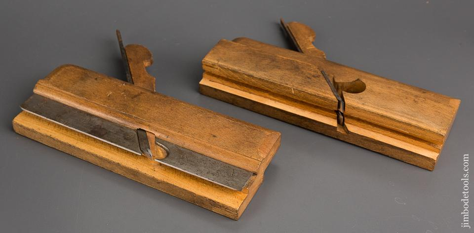 Pair of HIELDS NOTTINGHAM Tongue & Groove Planes circa 1830-81 FINE - 82903