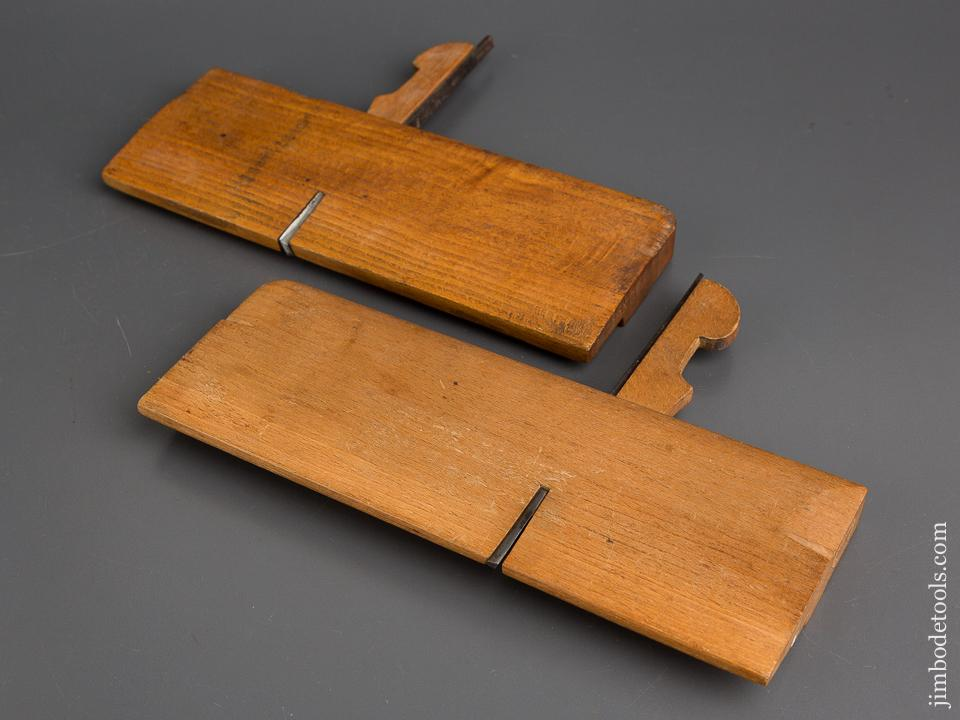 Mixed Maker Pair of Side Rabbet Planes FINE - 82922