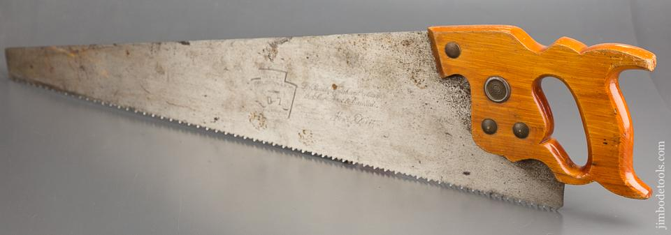 5 point 26 inch Rip DISSTON D7 Hand Saw - 83094