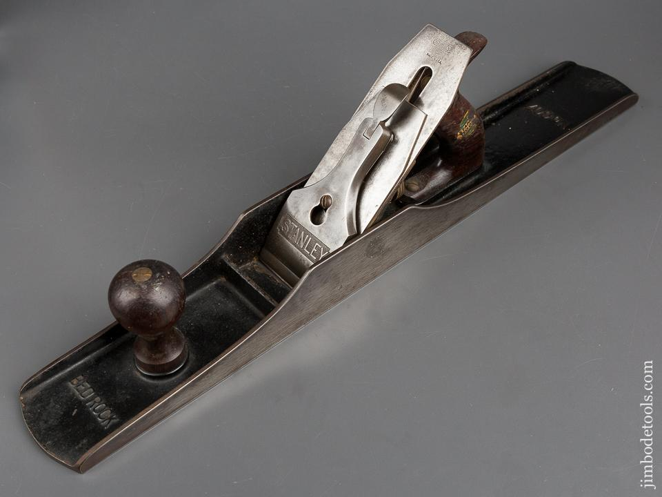 Awesome STANLEY No. 607C BEDROCK Jointer Plane Type 7 circa 1923-26 with Decal SWEETHEART - 83152
