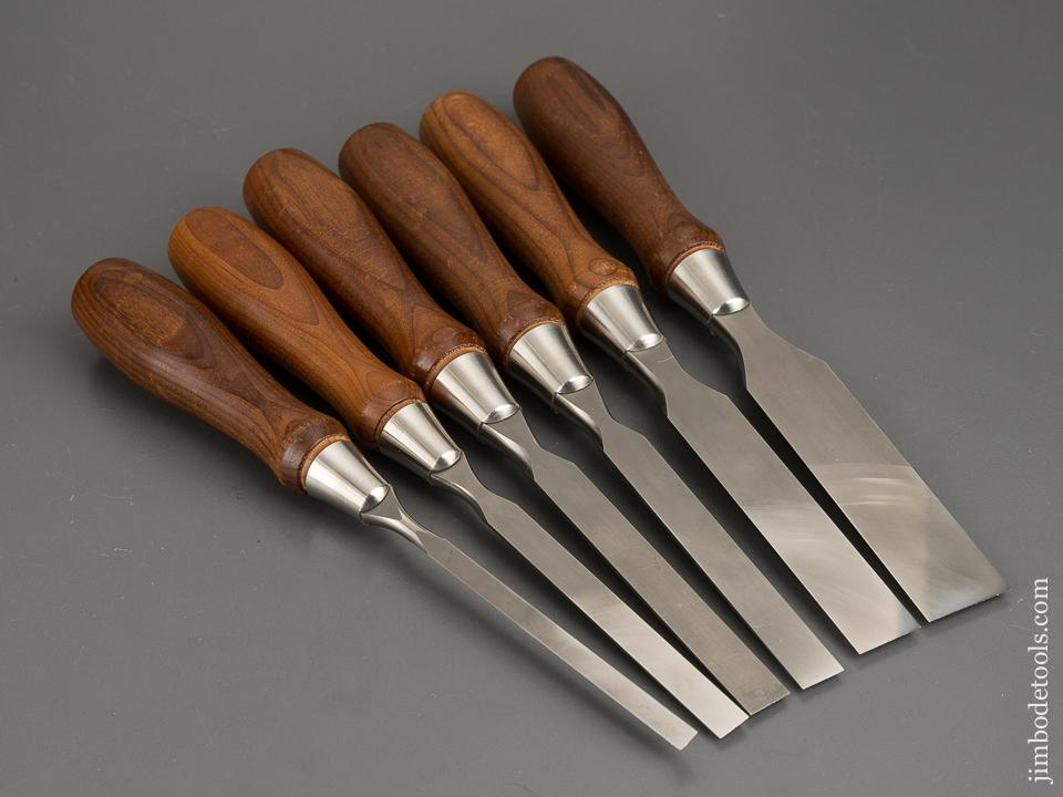 Mint! Set of Six VERITAS PM-V11 Chisels - 83168