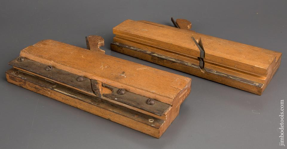 3/4 inch Tongue & Groove Planes by A. L. GLEASON WATERTOWN NY circa 1859-69 NEAR MINT - 83279