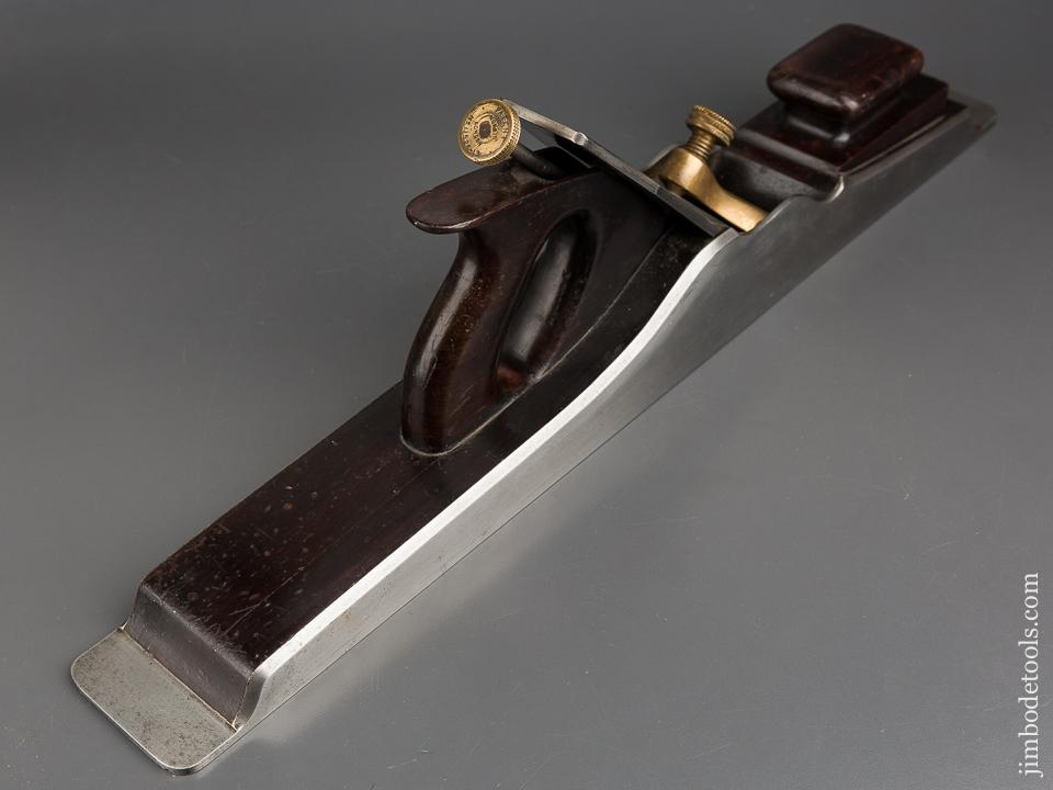 Awesome! NORRIS Pre-War 22 1/2 inch Dovetailed Steel & Rosewood Jointer Plane - 83325U