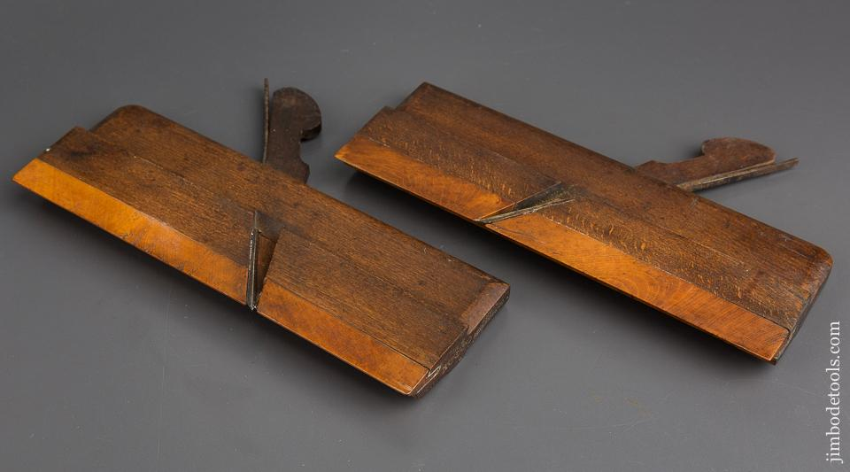 Pair of VARVILL & SON YORK Snipe Bill Planes circa 1829-40 EXTRA FINE - 83346