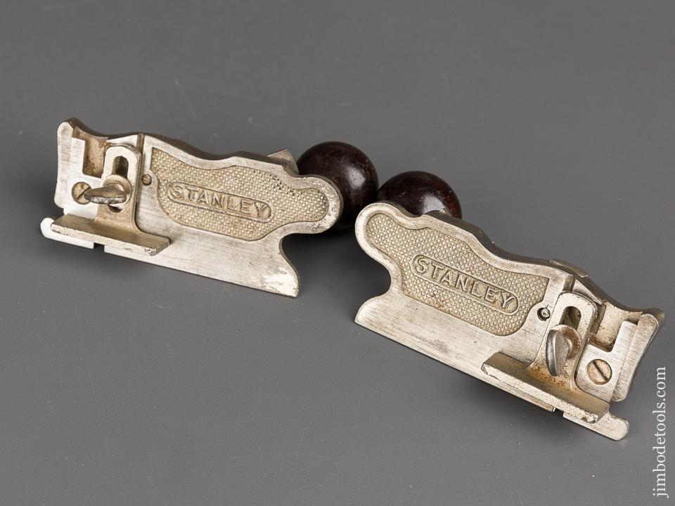 TRAUT Patent January 29, 1895 STANLEY No. 98 & 99 Side Rabbet Planes with Depth Stops! - 83399