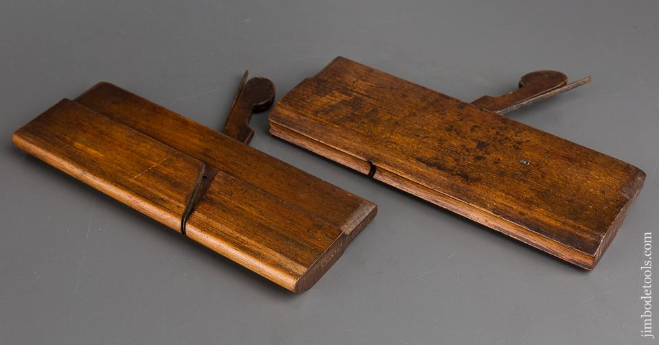 Pair of Drop Leaf Table Joint Planes - 83417