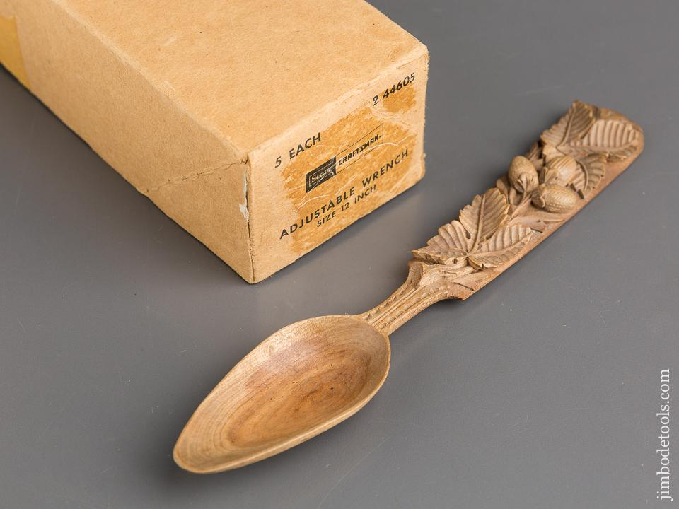 Beautiful Ten inch Hand carved Wooden Spoon - 83443