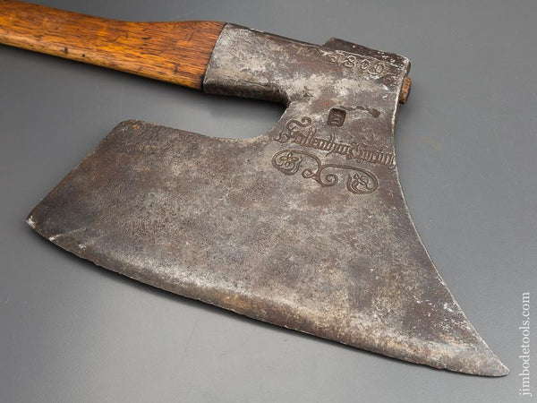 Fabulous! Dated 1809 Fancy Broad Axe - 83500