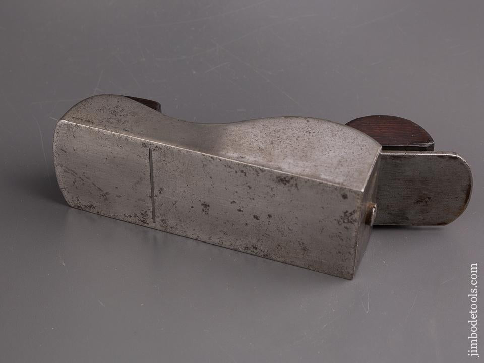 One of Two Known Examples! Rare NORRIS Patent Metal Miter Plane FINE - 83548U