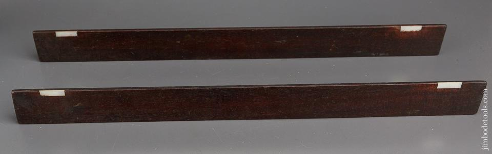 19 inch Mahogany and Mother of Pearl Winding Sticks - 83585