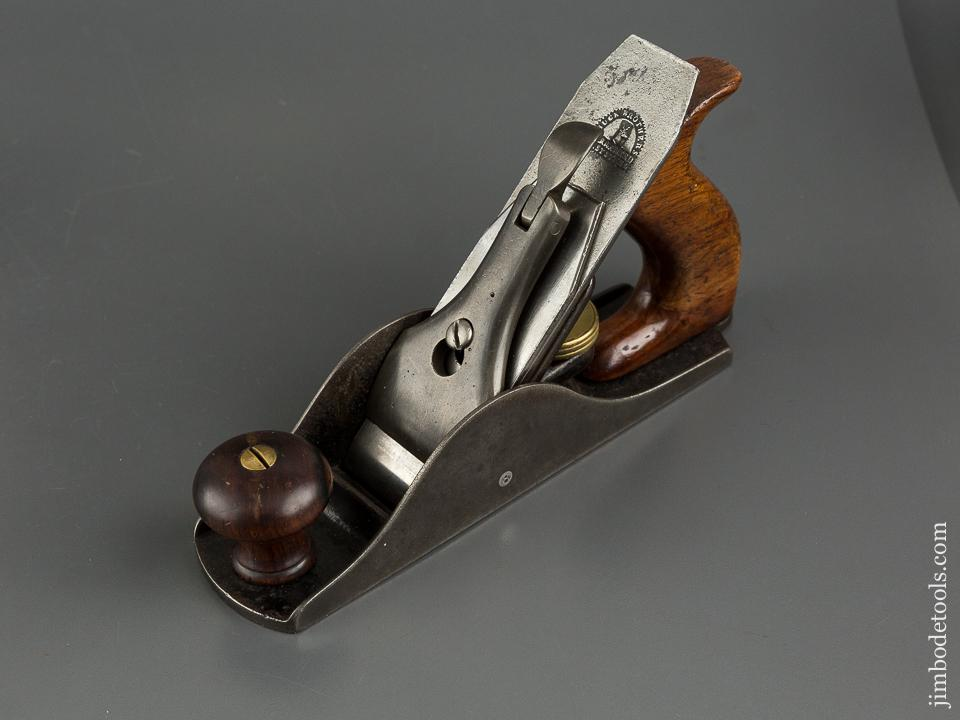 RARE! Extra Fine BAILEY BOSTON 1855 Patent Vertical Post Smooth Plane - 83632U