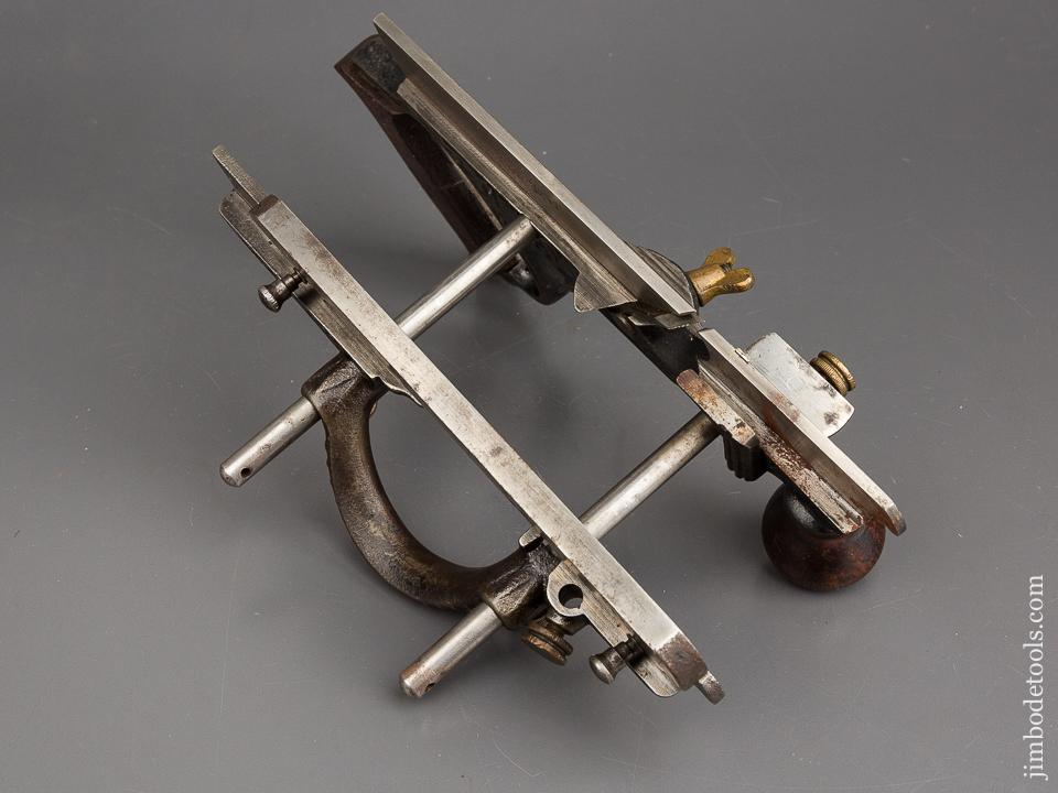 STANLEY No. 46 Type Two Combination Plane circa 1874 with Ten Cutters - 83740