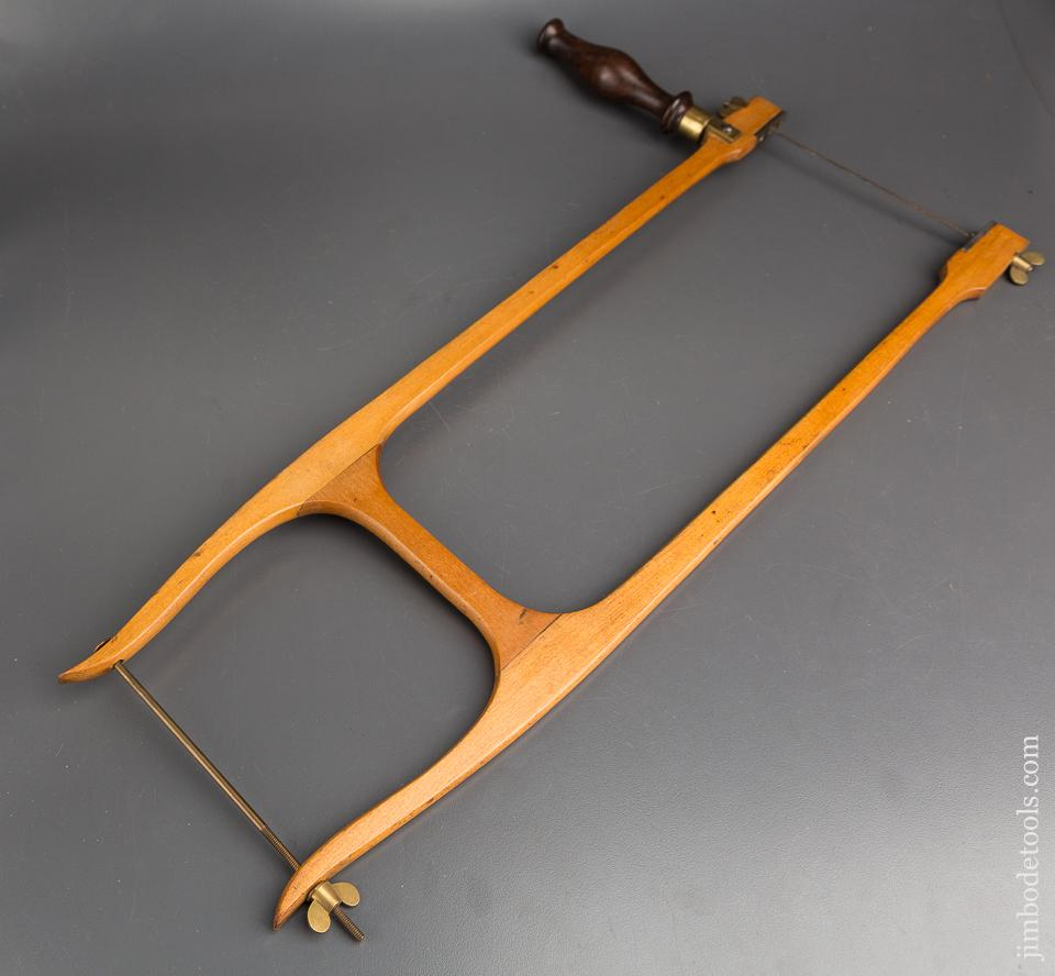 Near Mint! Patented December 13, 1870 SORRENTO WOODCARVING CO BOSTON Bow Saw - 83751