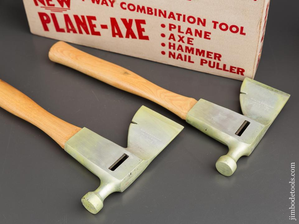NEW & Unused! Two PLANE AXE Four Way Combination Tools MINT in Original Box! - 83761