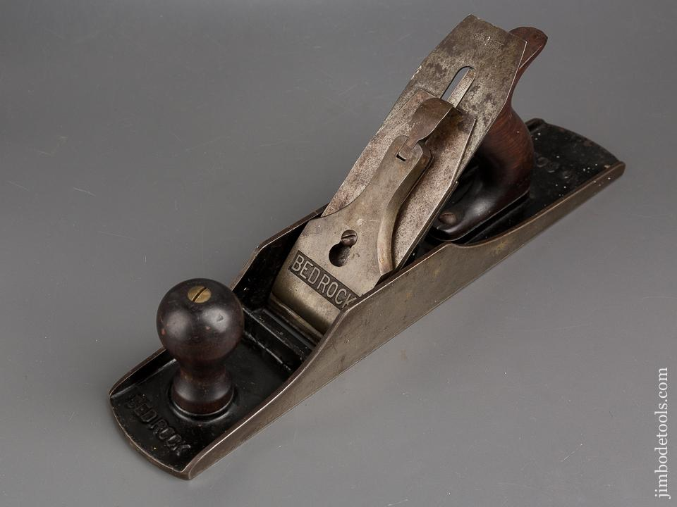 Awesome STANLEY No. 605 1/2 BEDROCK Jack Plane Type 6 circa 1911-18 - 83781
