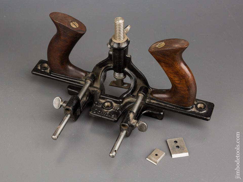 STANLEY No. 171 Door Trim & Router Plane COMPLETE with All Three Cutters - 83783