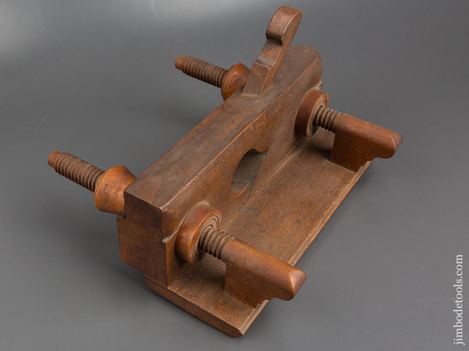 RARE Screw Arm Moving Filletster Plane by M. COPELAND circa 1822-55 EXTRA FINE - 83791