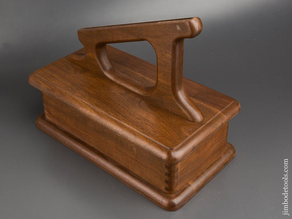 Wooden Plow Plane Stand with Box - 83808