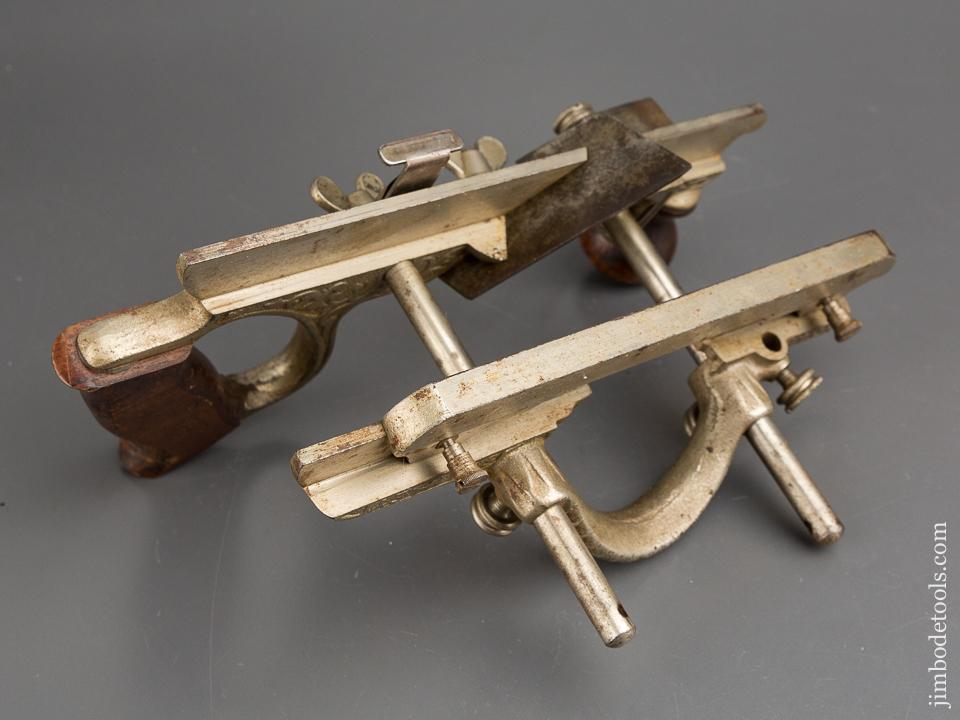 STANLEY No. 46 Skew Cutter Combination Plane Type 7nFINE & COMPLETE with Wraparound Depth Stop and 12 Cutters - 83915