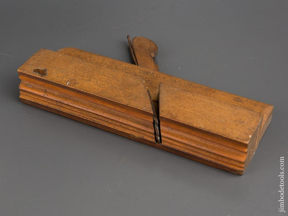 1 3/4 inch Wide MOSELEY & SON LONDON Crispy Complex Moulding Plane circa 1819-30 EXTRA FINE - 83931