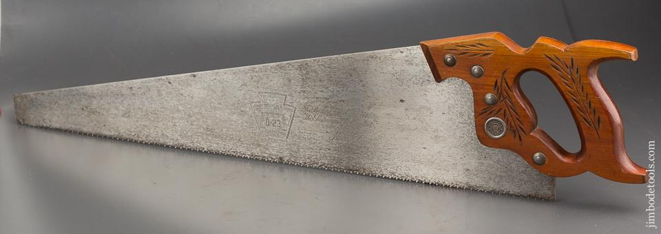 LIKE NEW 8 point 26 inch Crosscut DISSTON D8 Hand Saw - 84111