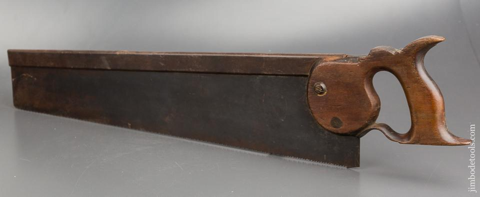 18th Century KENYON 10 point 20 inch Carcass Saw - 83990